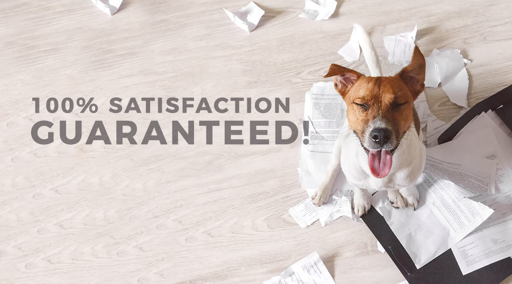 100% satisfaction guaranteed for our printer services, supplies & equipment